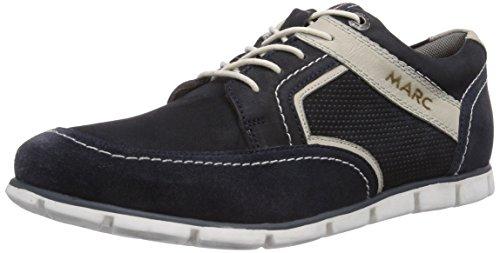 Marc Shoes 1.213.13-02/751-jamie, Derbies à lacets homme Bleu - Blau (navy-offwhite 751)