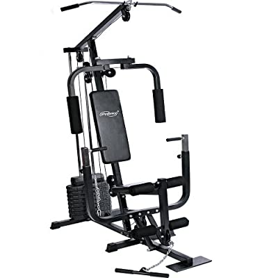 Physionics® FNST01 Multi Home Gym Fitness Station including 40kg weight by Physionics®