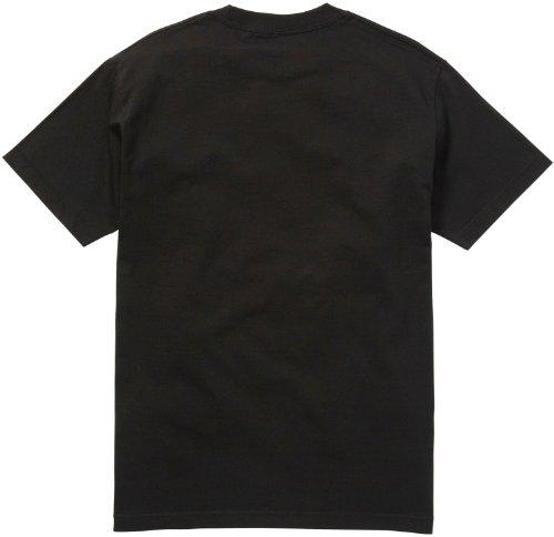 DC Mens Rob Dyrdek Tigerstripe Short-Sleeve Shirt Black
