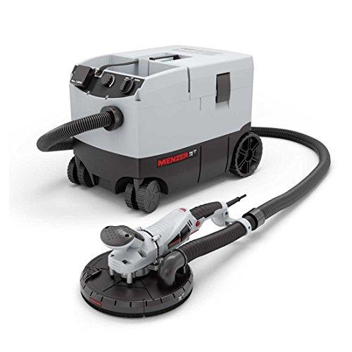 Preisvergleich Produktbild Trockenbauschleifer MENZER TBS 225 Pro und Profi-Industriesauger MENZER VC 790 Pro / inkl. Schleifmittel-Set