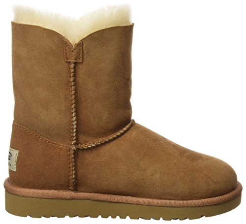 Ugg Australia Bailey Button Rasprose Classic, Boots fille Brown (Chestnut)