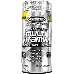 Muscletech Platinum Advance Multivitamin, 90 Caplets