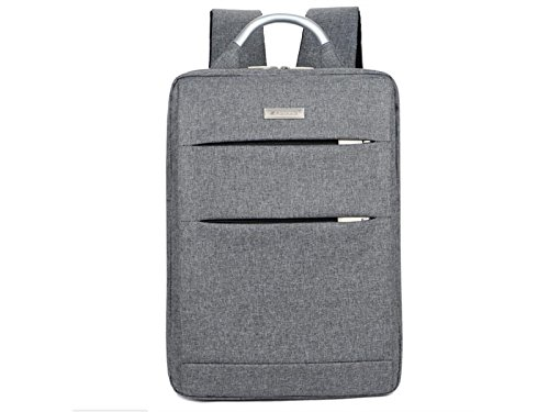 HOUHOUNNPO Perfect Outdoor Travel Laptop Computer Backpack for Hiking Student Business Man Women-Gray