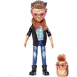 Enchantimals Muñeco con mascota Hixby Hedgehog (Mattel FJJ22)