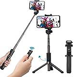 Mpow Selfie Stick Tripod, 2 in 1 Selfie Stick Tripod Monopod with Wireless