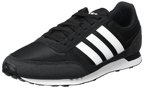 Foto de Adidas Neo City Racer, Zapatillas de Gimnasia para Hombre, Negro (Core Black/FTWR White), 41 1/3 EU