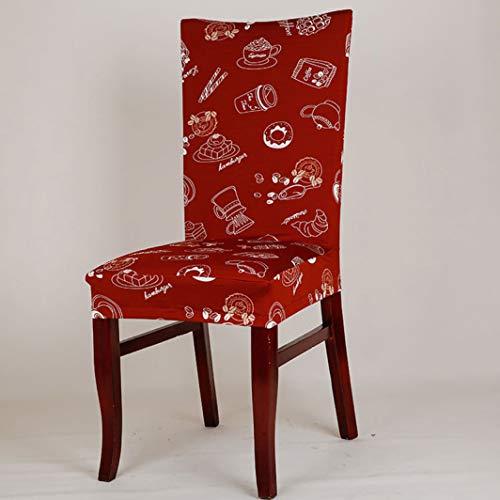 Maiamy fodere per sedie di natale spandex floreale elastico rosso torta di babbo natale stretch custodia per la decorazione della famiglia moderna