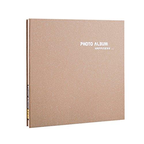 FOOHAO- Album photo auto-adhésif manuel bricolage, albums d'affaires minimalistes, 20 feuilles (40 Surface) (Couleur : White card)