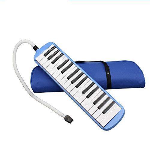YUSDP Piano-Style 32 Tasten Melodica, mit Tragetasche und Poliertuch, 2 Doppelmundstücke Tube Sets-Lightweight Geeignet für Musikliebhaber Anfänger Geschenk