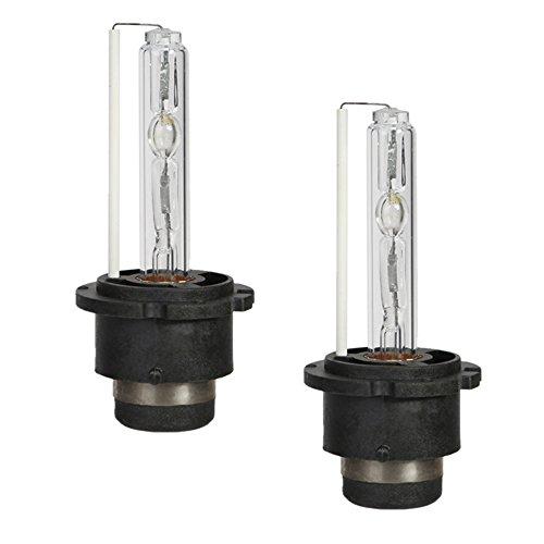 [OSAN] 2x D2S Xenon Scheinwerferlampe HID Licht AC 12V (35W, Lichtfarbe:8000K)