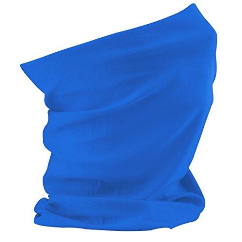 Schlauchschal aus Mikrofaser | Schlauchtuch | Halstuch | Bandana | Multifunktionstuch | Kopftuch | vielseitig und in verschiedenen Farben (Sapphire Blue)