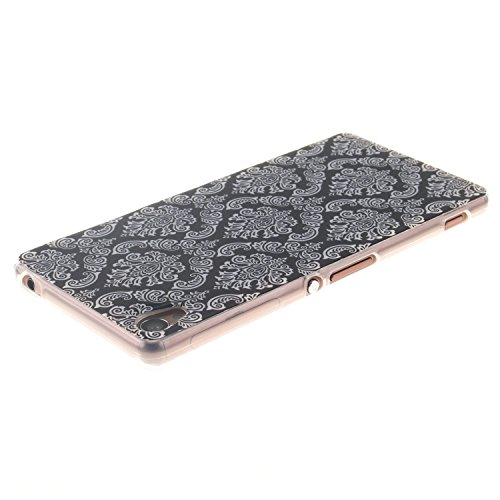 Qiaogle Telefon Case - Weiche TPU Case Silikon Schutzhülle Cover für Apple iPhone 5 / 5G / 5S / 5SE (4.0 Zoll) - TX32 / Rote love heart raindrops TX30 / Totem Blume