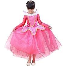 Covermason Niña Princesa Vestidos - Elegante Halloween Cumpleaños Fiesta Disfraz para 3-9 Años