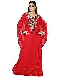 6f51fea697c PalasFashion kaftán y los vestidos de seguridad para anclaje en sudadera  con capucha para mujer bordado