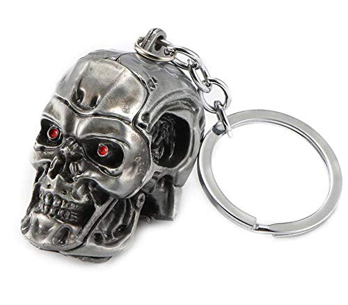 Metal Keyring with Terminator