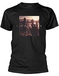 Plastic Head Official Linkin Park - One More Light - Mens Black T Shirt