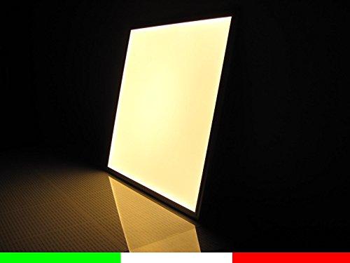 Plafoniera Led Quadrata 48w : Lampada pannello a led slim cm luminoso quadrato w