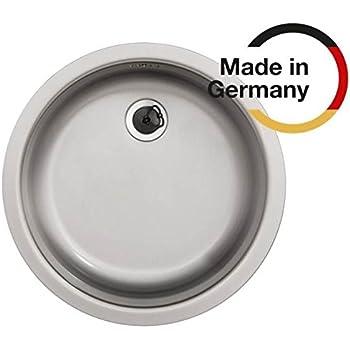 Rieber Einbauspüle E 39, Edelstahl, Küchenspüle MADE IN GERMANY ...