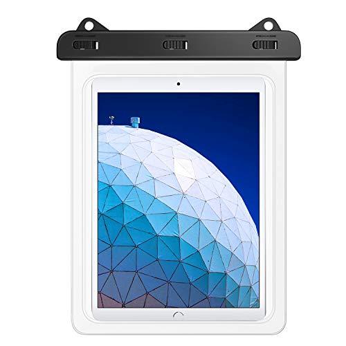 """MoKo Custodia Impermeabile Universale, Borsa Impermeabile per Tablet Fino a 10.5"""", iPad 10.2"""" 2019, iPad 9.7 2018, iPad PRO 10.5/9.7, Air 3, Samsung Tab S4 / Tab A 9.7 / Tab E 9.6 - Trasparente"""