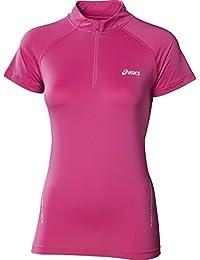 ASICS HALF Zip Women's Course à Pied T-Shirt