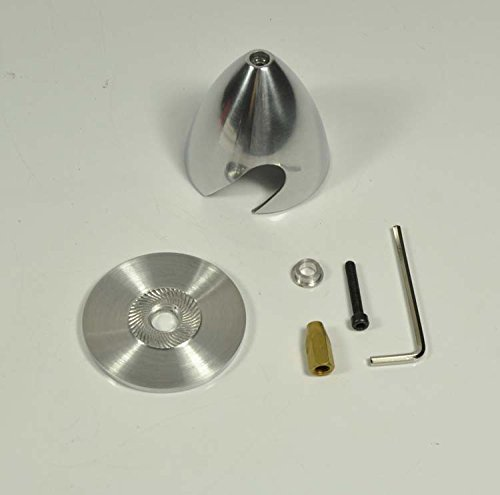 Generic 101mm : Aluminum Spinner 2 Blades Special Drilled For RC Plane With Prop Adapter 1.5