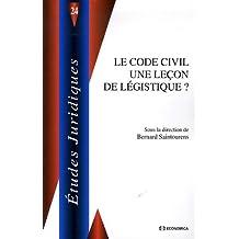 Le Code civil une leçon de légistique ?