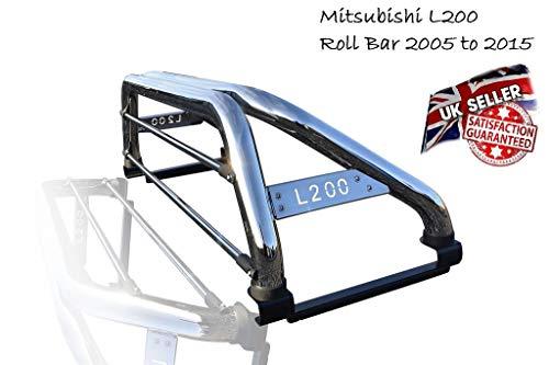 L200 2005-2015 in acciaio inossidabile Accessori per sport Roll Bar ch M000