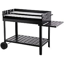 Tepro Atlanta Parrilla Carro Carbón vegetal Negro - Barbacoa (Parrilla, Carbón vegetal, Carro