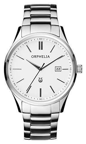 Orphelia Herren-Armbanduhr Classy Analog Quarz Edelstahl -