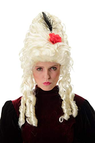 Wig me up - PT0045-P613 Damenperücke Karneval Fasching Barock Marie Antoinette Pompadour...