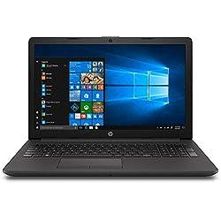 HP 250 G7 Notebook pc, Intel Celeron N4000, 4 GB di RAM, SSD da 128 GB, Nero