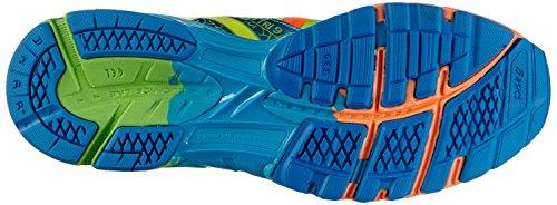 Asics Gel-Noosa Tri 9, Chaussures de trail homme Orange (3004-Flash Orange/Flash Yellow/Blue)