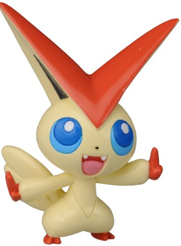 Takaratomy Pokemon Black and White Monster Collection Figure - M-021 - Victini