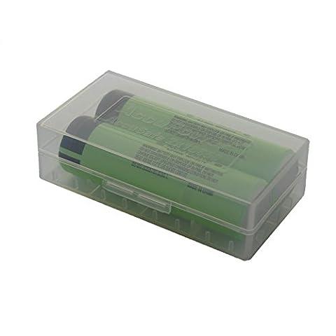 Panasonic NCR18650B Li-Ion batterie 2 incl. stockage,