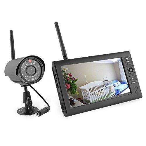 Kit di videosorveglianza con 1 monitor e 2 telecamere dvr for Telecamera amazon