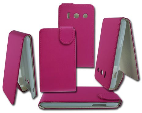 new-flip-pink-pu-leather-case-cover-pouch-for-huawei-ascend-y300-free-screen-protector