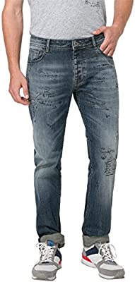 Desigual Denim_goria, Pantalones para Hombre