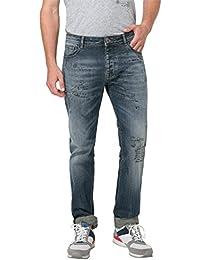 Desigual Herren Straight Jeans Denim_goria
