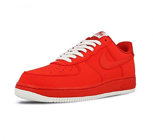 Nike Air Force 1 Sneaker Trainer 820266-603 Red/Red
