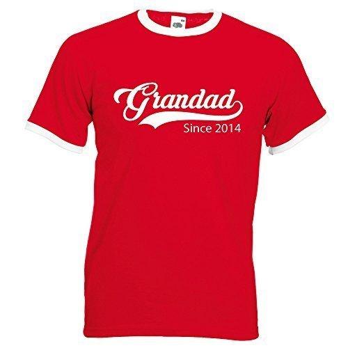 60 Second Makeover Limited personnalisé Grandad Depuis T-Shirt Rouge Dessus Blanc du S au XXL personnalisé à Capuche pour Fête des Pères Noël Cadeau D