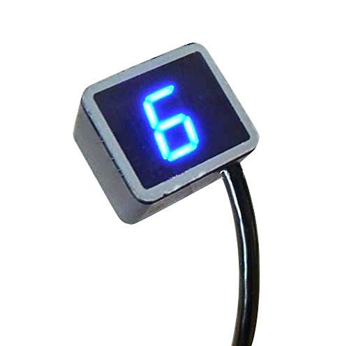 Denshine 8 Speed LED Digital Anzeige Ganganzeige Motorrad Schalthebel Sensor für Motorräder
