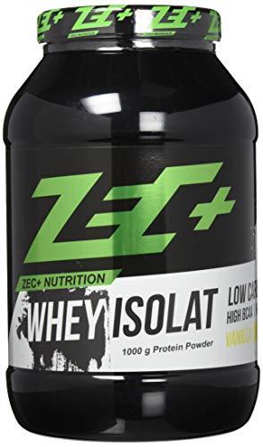 ZEC+ Whey Isolat - 1000 g, Molkenprotein Eiweißpulver, Geschmack Vanille