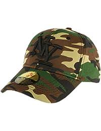 Casquette Baseball Marron Camouflage Minsk - Homme