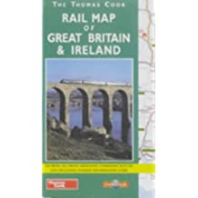 Rail Map of Great Britain and Ireland (Red Cover)