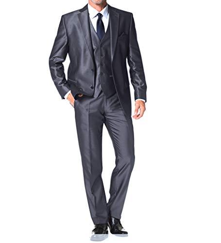 2019 Die Neue Casual Fashion Stretch Stoff Frühling Mode Lässig Männer Anzug Slim Fit Männer Anzüge Hochzeit Anzüge Ungleiche Leistung jacke + Hose + Weste Herrenbekleidung & Zubehör