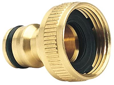 Draper Expert 68430 3/4-Inch BSP Garden Hose Tap Connector