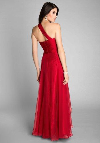 VIP Dress Langes Abendkleid / Ballkleid / Abschlussballkleid in Rot Rot