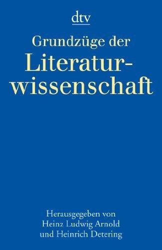 Grundzüge der Literaturwissenschaft. by Heinz Ludwig Arnold (1999-11-01)