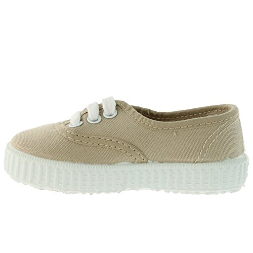Victoria Inglesa Lona Unisex - Erwachsene Sneaker Stein