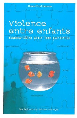 Violence entre enfants. Casse-tête pour les parents